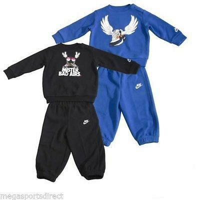 Nike Infant Toddler Mister Bad Airs Fleece Jogging Suittracksuit Jog Bnwt Baby