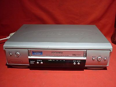 Samsung Sv-240B Vhs Vcr Video Player No Remote Working Well