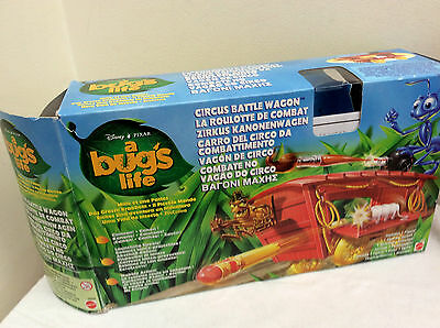 Mattel A Bugs Life Circus Battle Wagon    BOXED