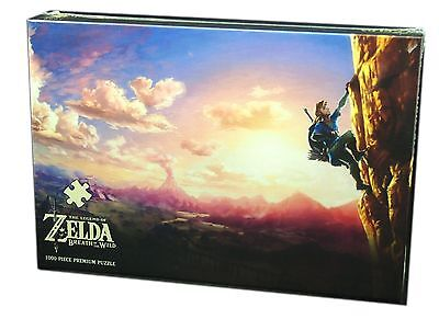 Usaopoly Collectors Puzzle The Legend of Zelda, Scaling Hyrule, 1000 piece, new