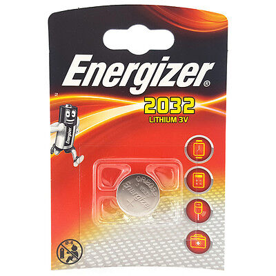 Energizer 2032 CR2032 DL2032 3V Lithium Coin Cell Battery