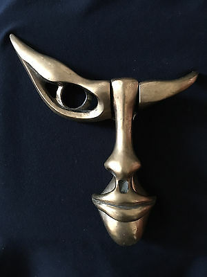 Cellura Solid Bronze Door Knocker, Gothic (?) Style, very limited numbers