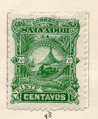 Salvador 1892 Early Issue Fine Mint Hinged 30c. 152568
