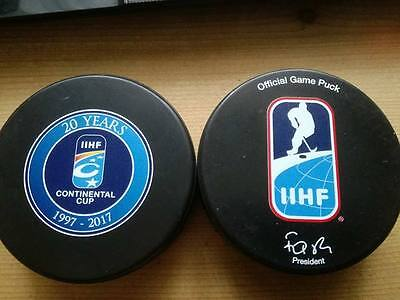 Continental Cup 2017, IIHF Official game puck
