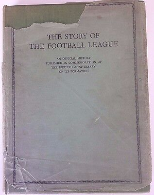 The Story Of The Football League By Charles Sutcliffe ~ Superb History From 1938