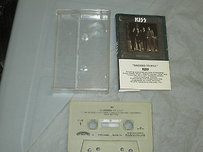 Kiss - Dressed to Kill (Cassette, Tape) Working Tested