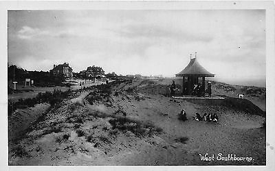POSTCARD  DORSET    BOURNEMOUTH  West  Southbourne   RP