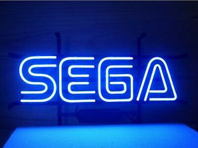 Sega Gameroom Neon Sign Display Beer Bar Pub Mancave Garage Light Custom Z439