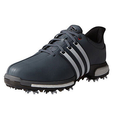 NEW Adidas Mens Tour 360 Boost Golf Shoes Onix / White / Red - Choose Size!