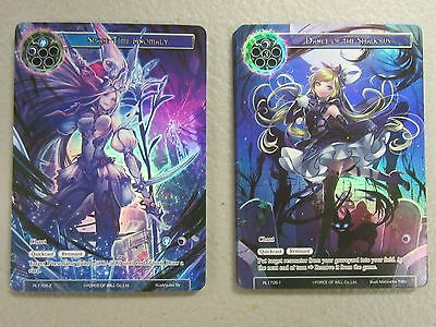 Force Of Will RL1705-1 2 Dance of the Shadows Space Time Anomaly Lot 2 Cards