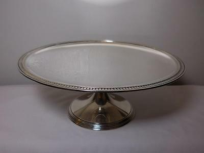 Tiffany and Co. Antique Sterling Silver Cake Stand