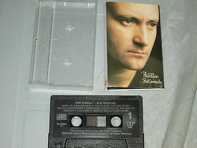 Phil Collins - But Seriously (Cassette, Tape) WORKING Great Tested