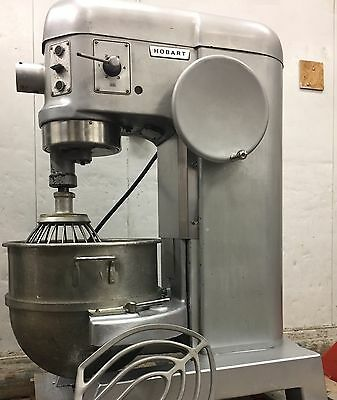 HOBART 80 QT MIXER 3 PHASE 1.5 HP L-800 With Attachments