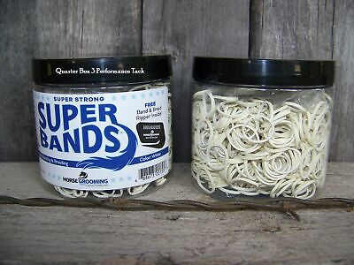 Super Bands by Healthy Haircare - White