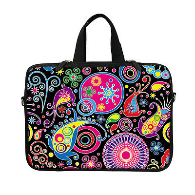 """Soft Neoprene Laptop Bag Case with Hidden Handle to Fit Chromebook 11.6/"""" 3101"""