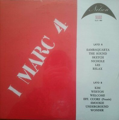 I Marc 4 ‎– G.L.P. 1001 RSD 2017 Sonor Music Editions Vinyl re-issue