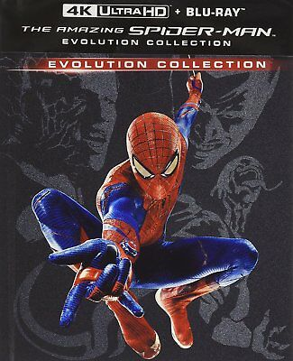 The Amazing Spider-Man - Evolution Collection (5 Blu-Ray 4K Uhd + Blu-Ray)