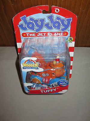 NIB! Jay Jay The Jet Plane Tuffy Tow Truck Wooden Toy Action Products Tarrytown!
