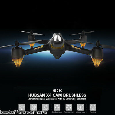 Hubsan X4 H501C 4CH Brushless RC Quadcopter with 1080P HD Camera One Key Return