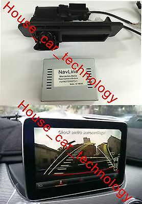 PAS+PDC with motorizing Backup camera for 2015 Mercedes Benz W117 CLA-CLASS NTG5