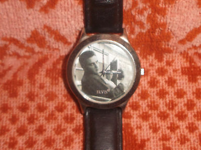 ***Elvis Presley~2002 Wrist Watch~NEEDS BATTERY!***