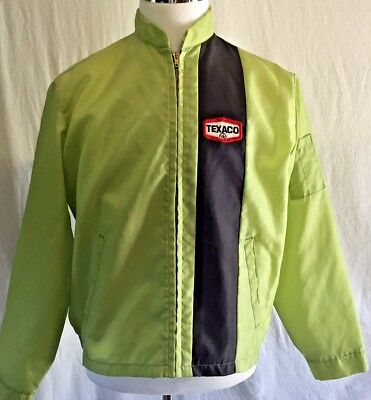 VINTAGE UNION MADE IN USA SERVICE GAS STATION ATTENDANT JACKET COAT TRUCKER Sz S