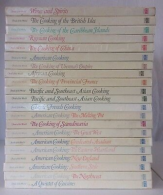 Time Life Foods of the World Cookbooks 21 Volumes Recipes Information Pictures