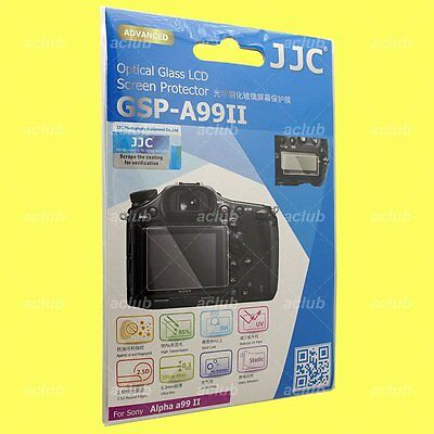 JJC 0.3mm Optical 9H Tempered Glass LCD Screen Protector For Sony Alpha A99II