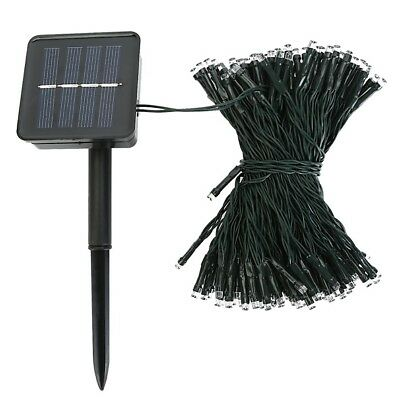 100/200/500 LED Solar Fairy Lights String Lamp Garden Outdoor Party Wedding Xmas