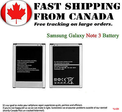 New Battery Replacement Part For Samsung Galaxy Note 3 3200mAh 3.8 Volts Samsung
