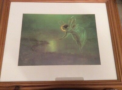 F/G Fairy Picture Print 'Spirit Of The Night' 1879 By John Atkinson Grimshaw