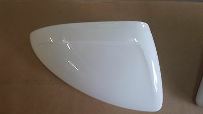 Vauxhall INSIGNIA 2009 N//S Olympic White gaz 40R painted Door Wing Mirror Cover