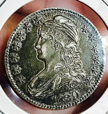 1830 CAPPED BUST Silver Half Dollar.SUPER NICE COLLECTOR COIN FOR COLLECTION.