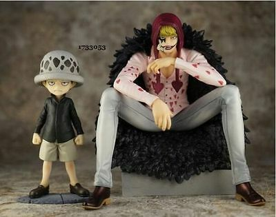 Anime One Piece POP Corazon & Law Limited Edition PVC Figure Toy Gift