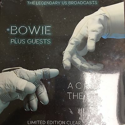 David Bowie Plus Guests - Across The Ether - New Clear Vinyl LP - New and Sealed