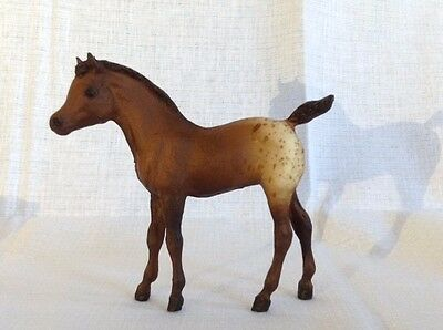 Vintage Breyer Stock Horse Foal with Original Box! - Brown Spotted Blanket #17