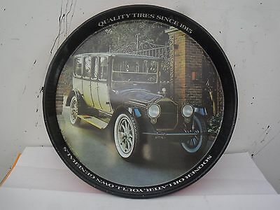 1-General Tire 1917 Packard 12-Cylinder Imperial Limousine Metal Serving Tray .