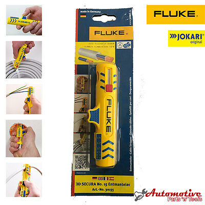 Jokari Secura Cable Stripper (8-13mm) Electricians Wire Stripping Tool Cutters