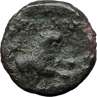 SARDES in LYDIA 200BC Dionysus Wine God Lion Authentic Ancient Greek Coin i61280