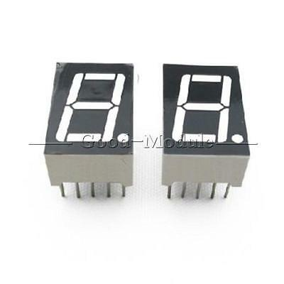 5PCS 0.56 inch 1 digit Red Led display 7 segment Common Anode NEW