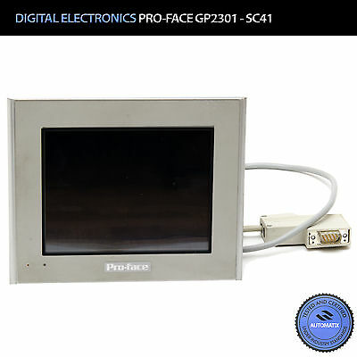 GP2301-TC41-24V PRO-Face lcd touch panel GP2301TC41, 2980070-03 // USED - tested