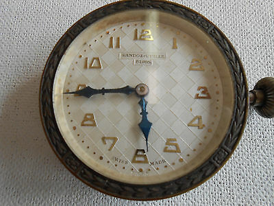 SANDOZ-VUILLE 8 DAY Ford? CAR CLOCK Watch