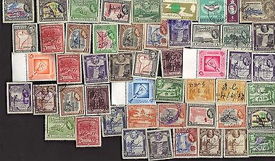 50 All Different  BRITISH GUIANA only  STAMPS