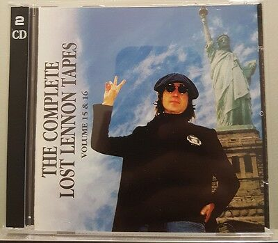 Complete Lost Lennon Tapes - Vol. 15 & 16 WALRUS 1998  2 CD
