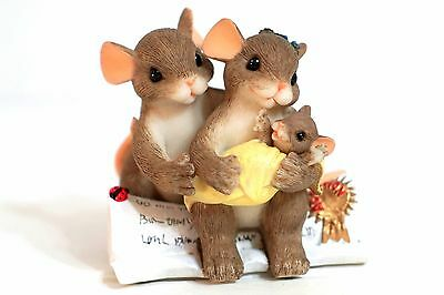 Charming Tails 89/157 We Are Family By Choice - mom dad baby adoption