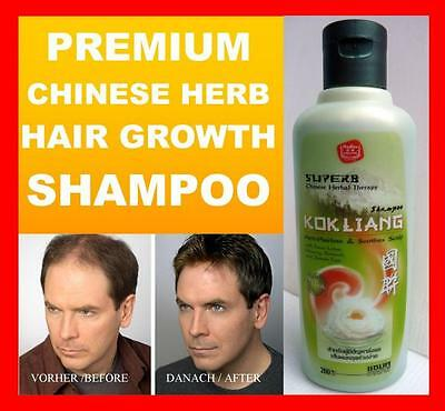 HAIR LOSS GROWTH FAST ULTRA SHAMPOO Regrowth Grow by Ancient Chinese Herbal