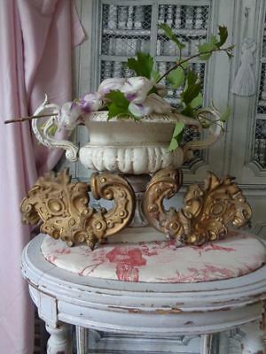GARDINENSTANGEN-ENDSTÜCKE Messing *** french shabby *** - C -