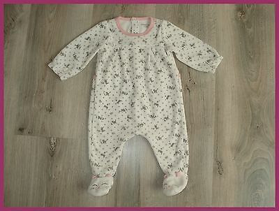 Pyjama velours SERGENT MAJOR 6 mois