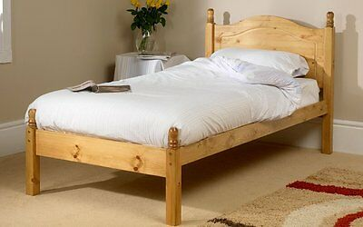 5FT Salisbury Shorty King Bed Frame | Pine Bed Frame | Shorty Beds, Odd Beds