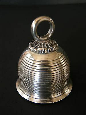 Vtg Sterling Silver 1977 Beehive Bell Metropolitan Museum Of Art Collection Mma
